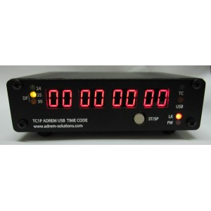 TC1 Pro LECTEUR GENERATEUR SMPTE USB